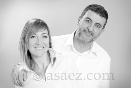 Eugenia y Antonio Sáez